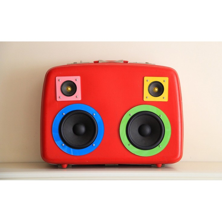 BOOMBOX  The RAVER