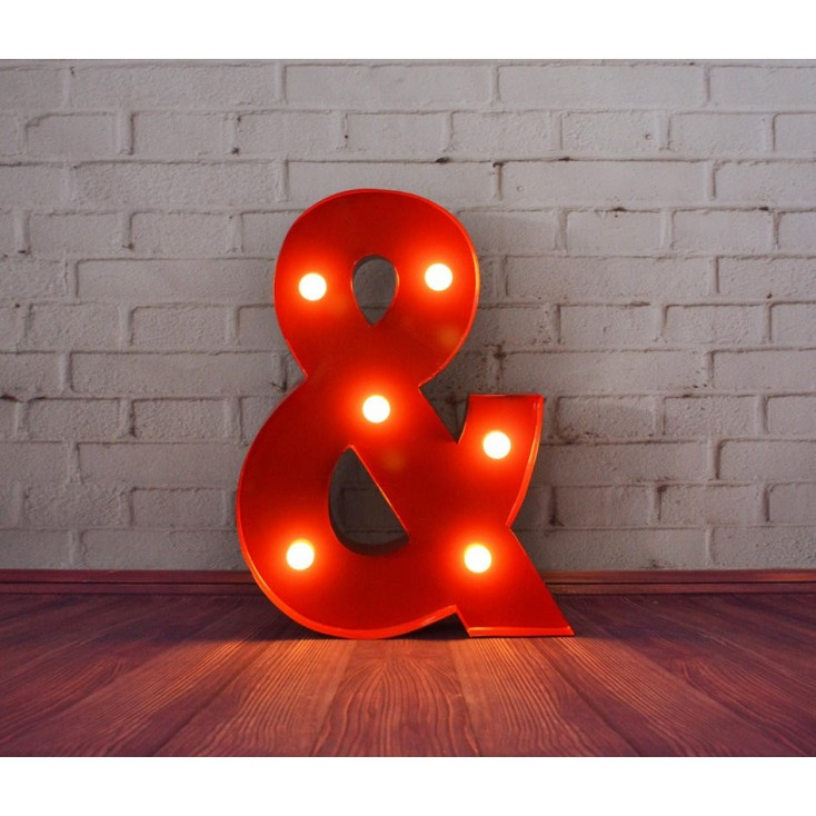 Ampersand Letter Light