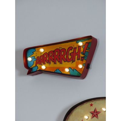 ARRRRRGH Bulb Sign