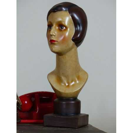 Art Deco Lady Bust Smithers Archives Smithers of Stamford £ 65.00 Store UK, US, EU, AE,BE,CA,DK,FR,DE,IE,IT,MT,NL,NO,ES,SE