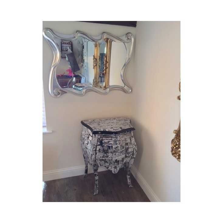 Quirky Silver Mirror Home Smithers of Stamford £ 180.00 Store UK, US, EU, AE,BE,CA,DK,FR,DE,IE,IT,MT,NL,NO,ES,SE