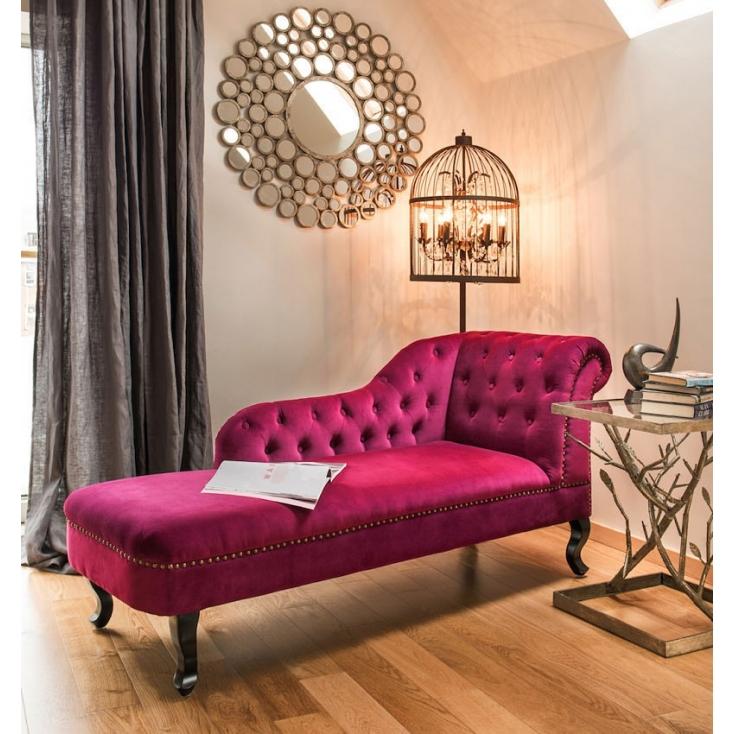 Damson Chaise Lounge