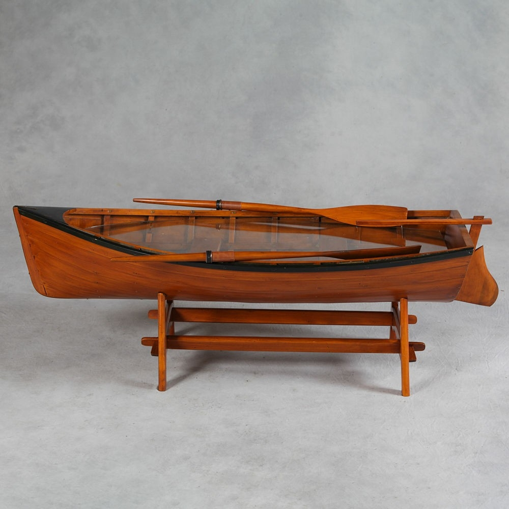 New Andover Crew Boathouse |Dinghy Coffee Table
