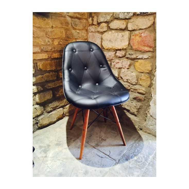 Devalle button  chair