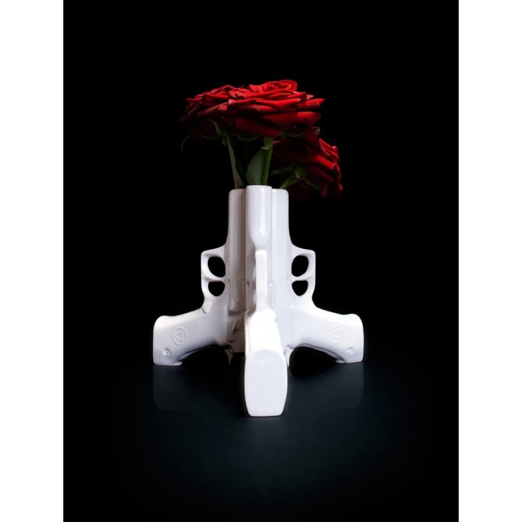 Guns In America Gun Flower Vase