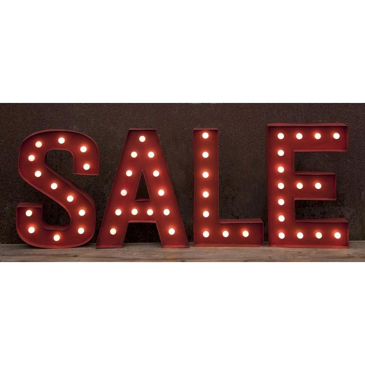 Sale Letter Lights