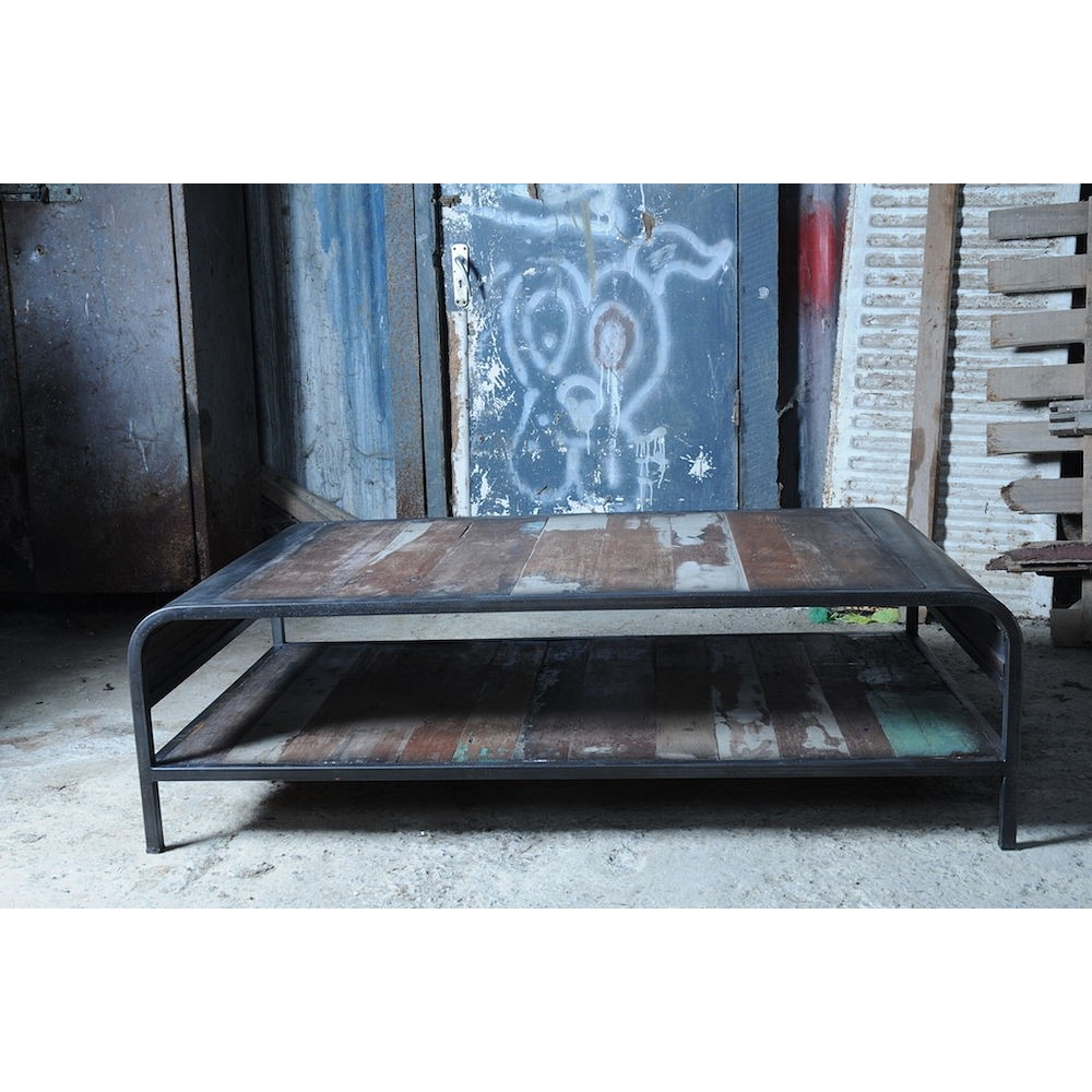 Beautiful New York Loft Reclaimed Wood Coffee Tables: Reclaimed Coffee Table