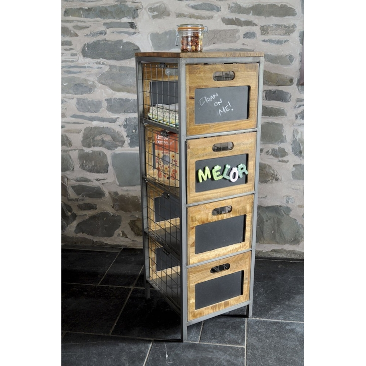 Apothecary Tallboy Chest