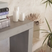 Concrete Console Table Home Smithers of Stamford £ 650.00 Store UK, US, EU
