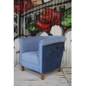 Denim Tub Chair