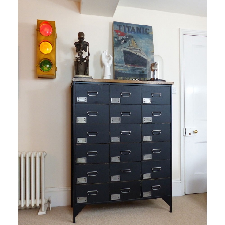 Chalk Apothecary Chest
