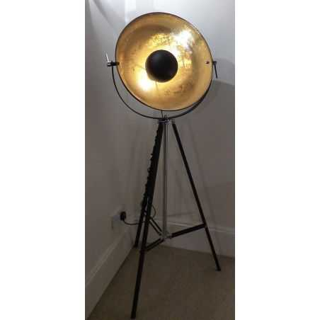 Tripod Vintage Floor Lamp Smithers Archives Smithers of Stamford £ 314.00 Store UK, US, EU, AE,BE,CA,DK,FR,DE,IE,IT,MT,NL,NO,...