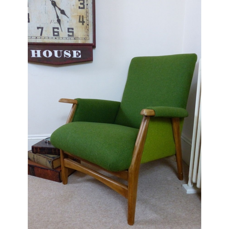 Green Mid Century Chair