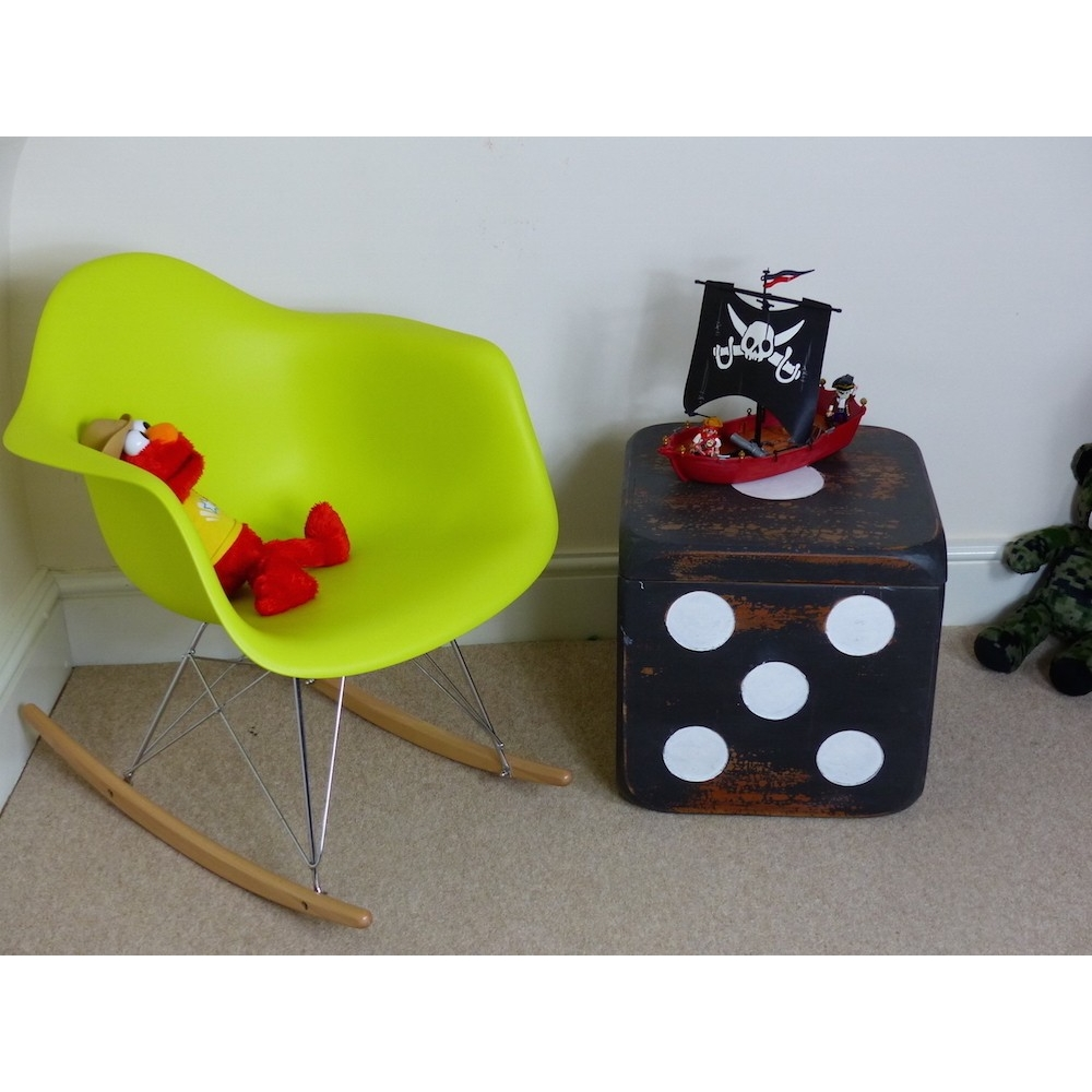 Charles Eames Style Rocking Chairs By Smithers Of Stamford