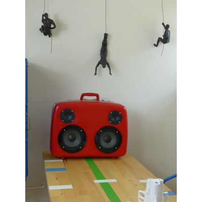 Red Ted BoomBox