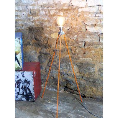 Repurposed Surveyors Lamp