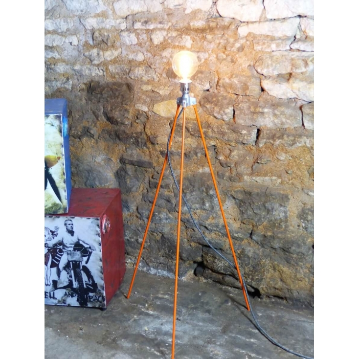 Repurposed Surveyors Lamp