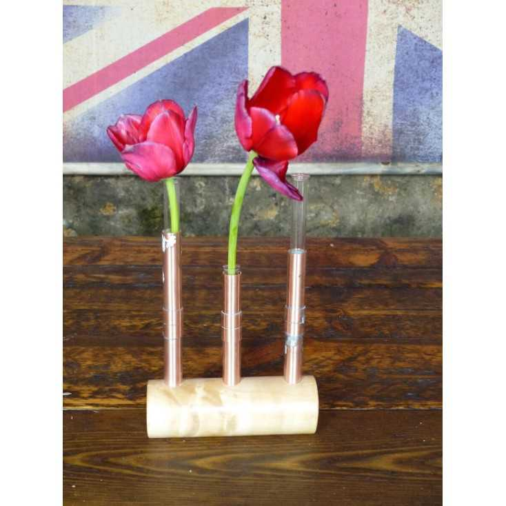 Vintage wedding centerpieces By Smithers of Stamford