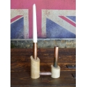 Chimney Double Candle Holder