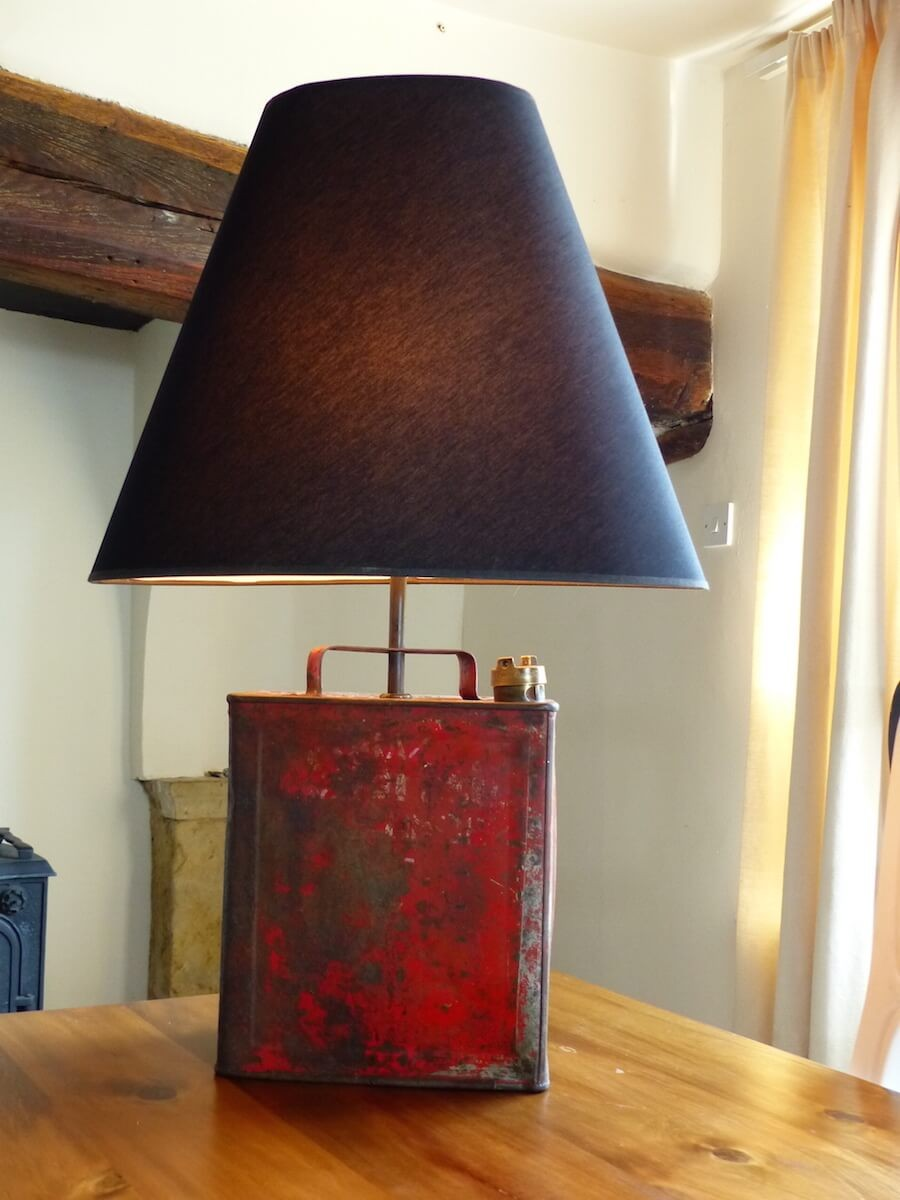 Guy Trench Lamp Made On The Money For Nothing Tv Show
