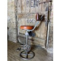 Vintage Bike Bar Stool