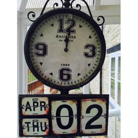 Paris Station Clock Home Smithers of Stamford £ 342.00 Store UK, US, EU, AE,BE,CA,DK,FR,DE,IE,IT,MT,NL,NO,ES,SE