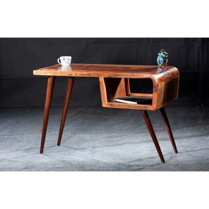Reclaimed Wood Desk Smithers Archives Smithers of Stamford £ 468.00 Store UK, US, EU, AE,BE,CA,DK,FR,DE,IE,IT,MT,NL,NO,ES,SE