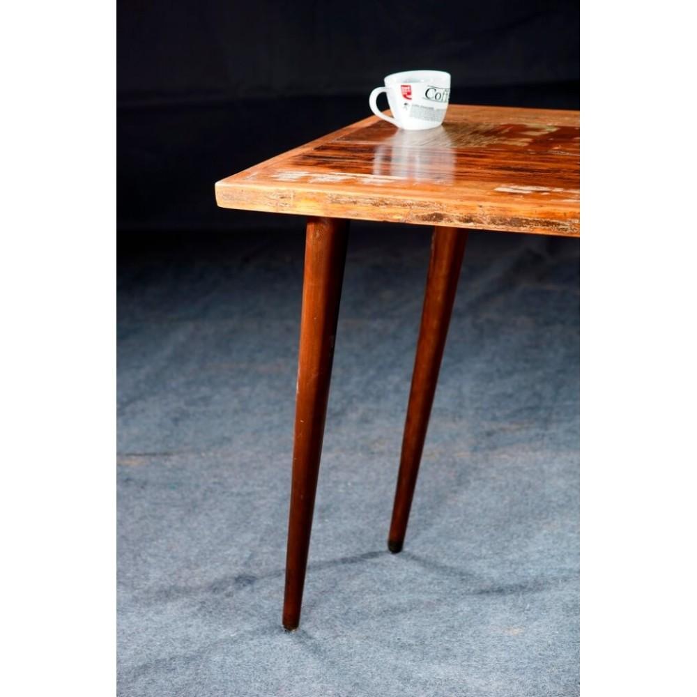 Reclaimed Wood Desk With Metal Legs