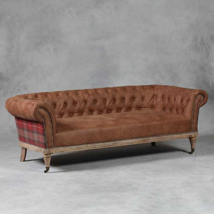 Tartan Chesterfield Sofa