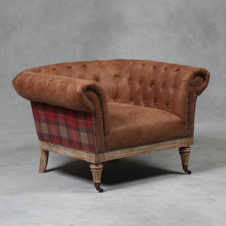 Tartan Chesterfield Armchair Smithers Archives £ 957.00 Store UK, US, EU, AE,BE,CA,DK,FR,DE,IE,IT,MT,NL,NO,ES,SE