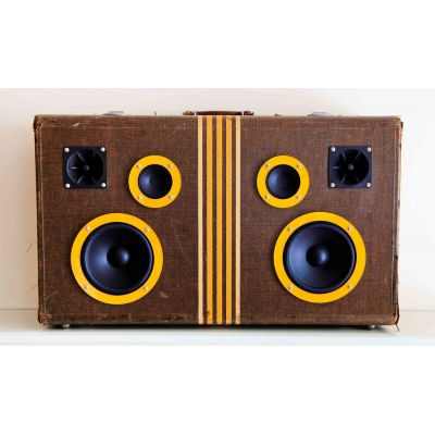 Boombox vintage Suitcase