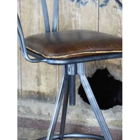 Spitfire Grille Stool Home Smithers of Stamford £ 212.00 Store UK, US, EU, AE,BE,CA,DK,FR,DE,IE,IT,MT,NL,NO,ES,SE
