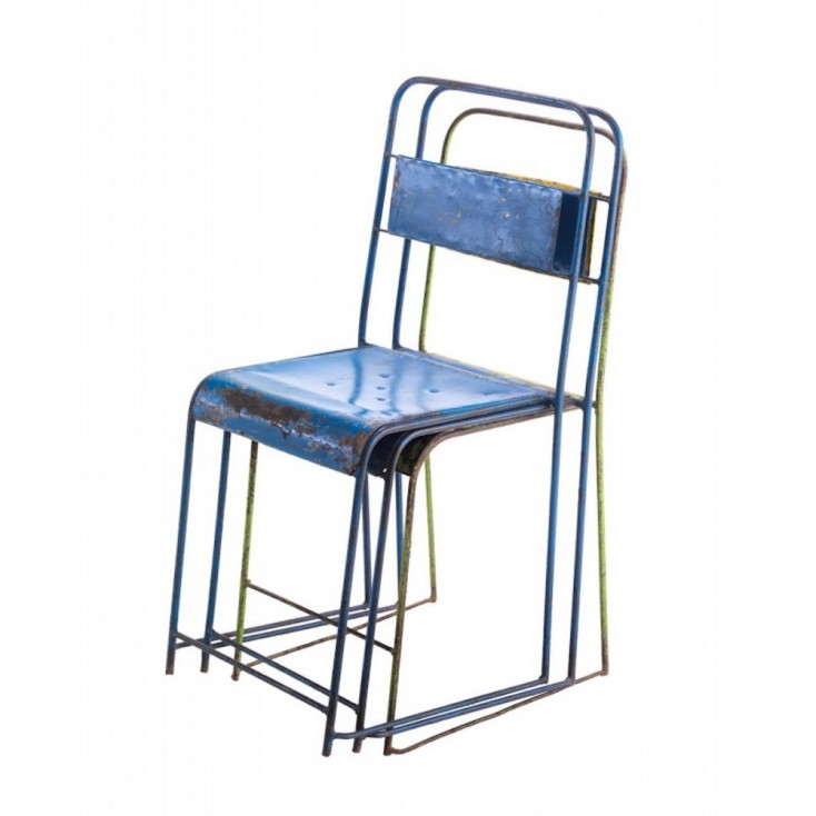 Vintage School Stacking Chairs Industrial Furniture Smithers of Stamford £ 57.00 Store UK, US, EU
