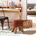 Leather Horse Pommel Stool