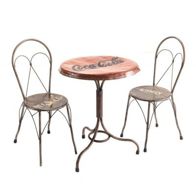 Coca Cola Dining Table Upcycled Furniture Smithers of Stamford £ 561.00 Store UK, US, EU