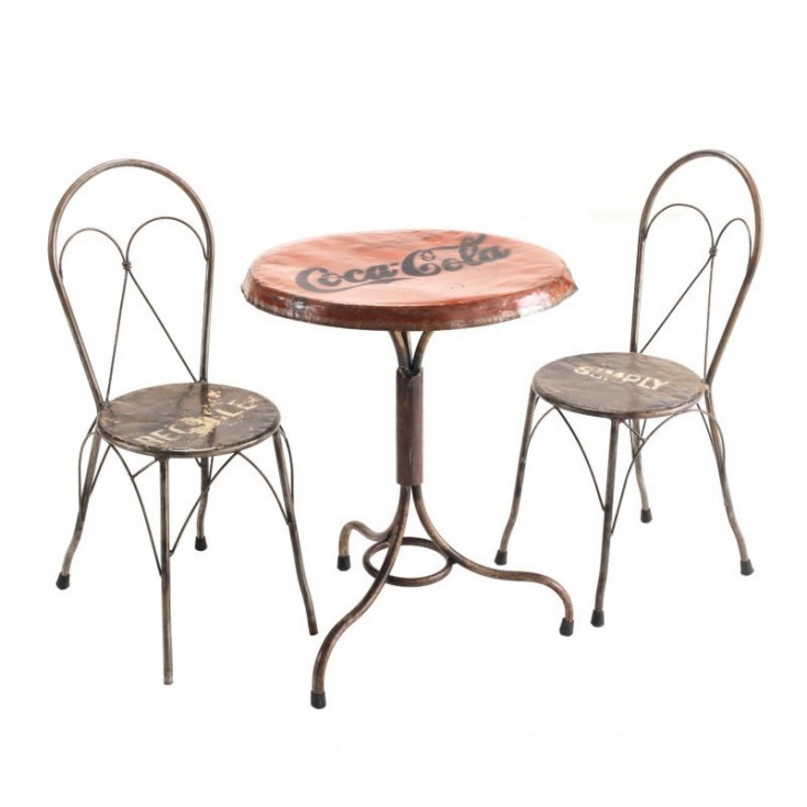 Coca Cola Dining Table Upcycled Furniture Smithers of Stamford £ 561.00 Store UK, US, EU, AE,BE,CA,DK,FR,DE,IE,IT,MT,NL,NO,ES,SE