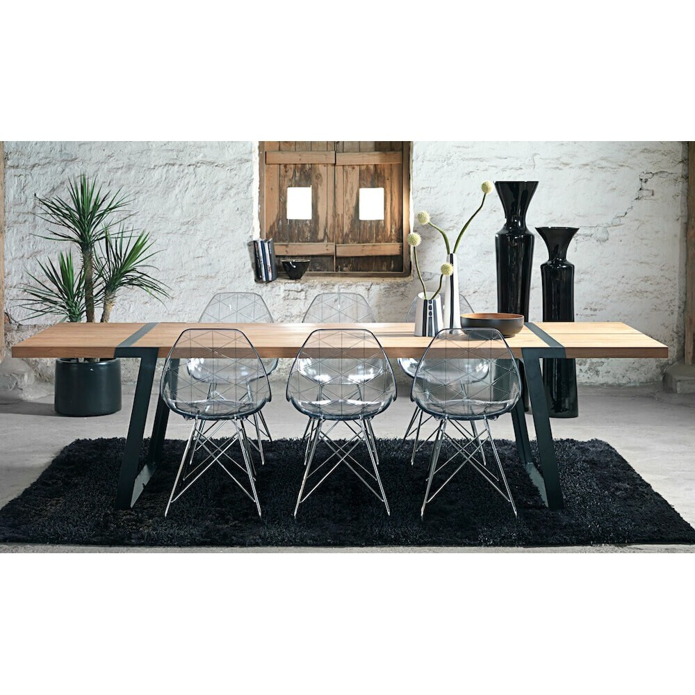 Bench Dining Tables: Contemporary Dining Table