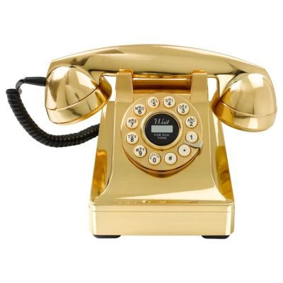 Gold Vintage Phone Unique Gifts Smithers of Stamford £ 70.00 Store UK, US, EU, AE,BE,CA,DK,FR,DE,IE,IT,MT,NL,NO,ES,SE