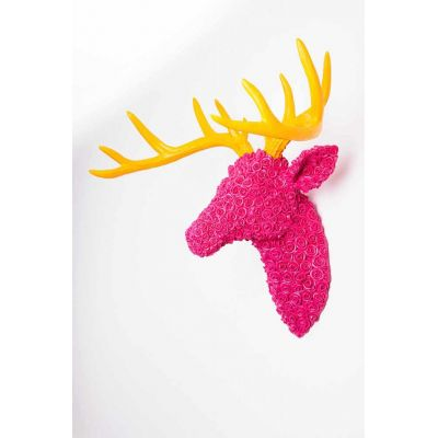 Pink Stags Head
