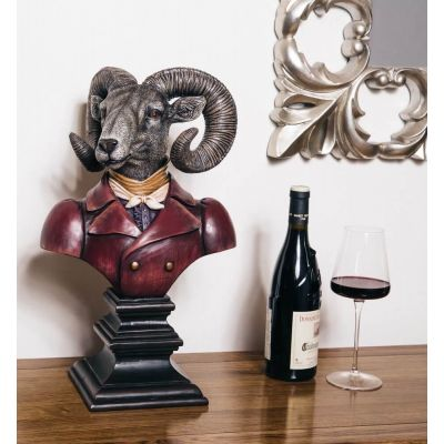 Victorian Rams Head Bust