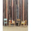 Scrap Wood Distressed Wallpaper