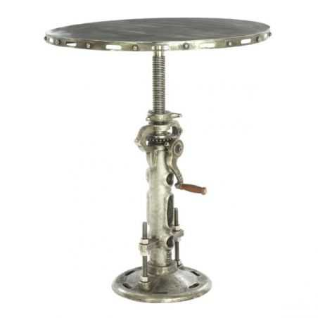 Mohawk Industrial Clunk Table Home Smithers of Stamford £ 724.00 Store UK, US, EU, AE,BE,CA,DK,FR,DE,IE,IT,MT,NL,NO,ES,SE