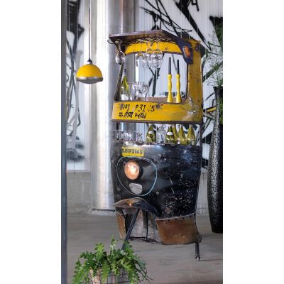 Tuk Tuk Bar Upcycled Furniture Smithers of Stamford 1,888.00 Store UK, US, EU, AE,BE,CA,DK,FR,DE,IE,IT,MT,NL,NO,ES,SE