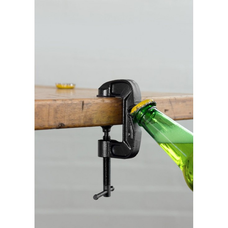 Industrial G-Clamp Bottle Opener