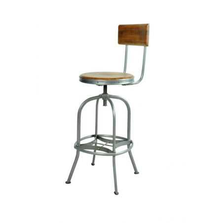 Vintage Swivel Bar Stool With Backs Urban Furniture Smithers of Stamford £310.00 Store UK, US, EU, AE,BE,CA,DK,FR,DE,IE,IT,MT...