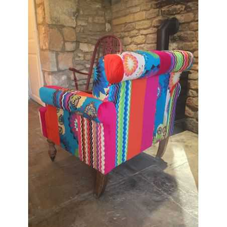 Patchwork Armchair Smithers Archives Smithers of Stamford £ 575.00 Store UK, US, EU, AE,BE,CA,DK,FR,DE,IE,IT,MT,NL,NO,ES,SE