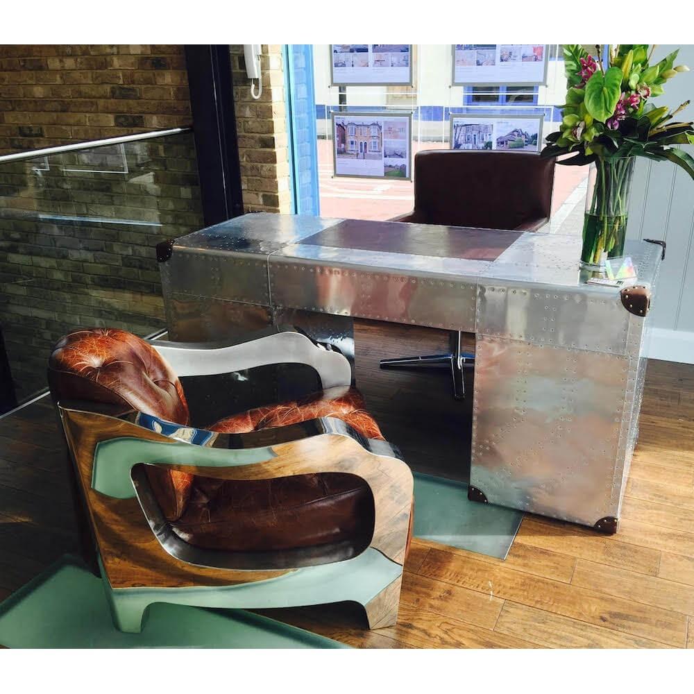 Furniture Stores Stamford Ct: Aviator Tomcat Armchair