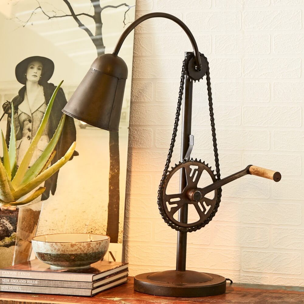 Oil Lamp Wallpaper