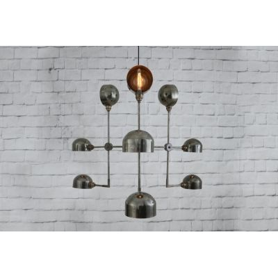 Minimalist Chandelier Industrial Lights Smithers of Stamford 1,200.00 Store UK, US, EU, AE,BE,CA,DK,FR,DE,IE,IT,MT,NL,NO,ES,SE