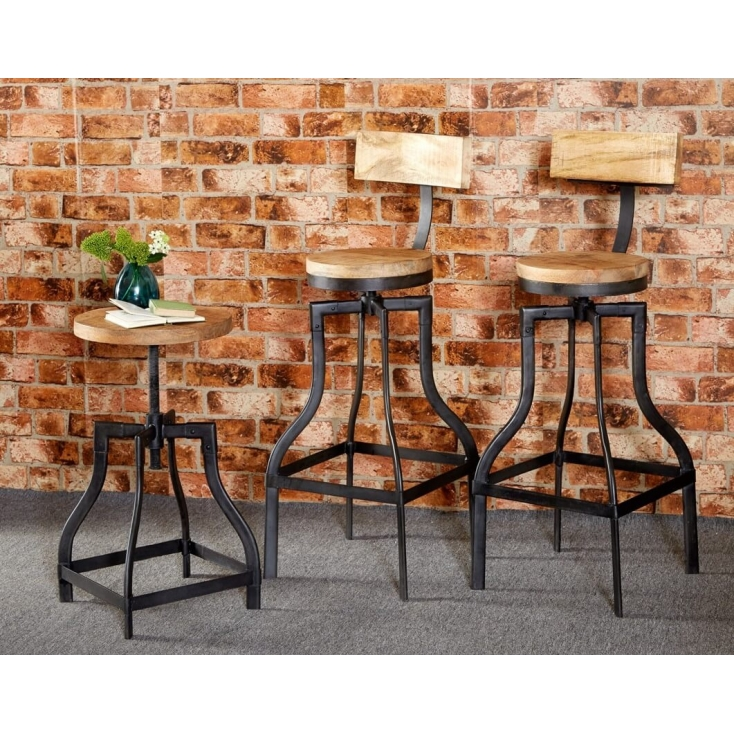 Industrial Bar Stools Home Smithers of Stamford £ 234.00 Store UK, US, EU
